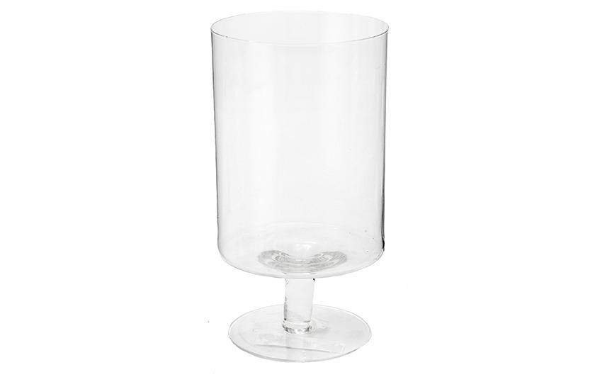 Designová skleněná váza - Brno