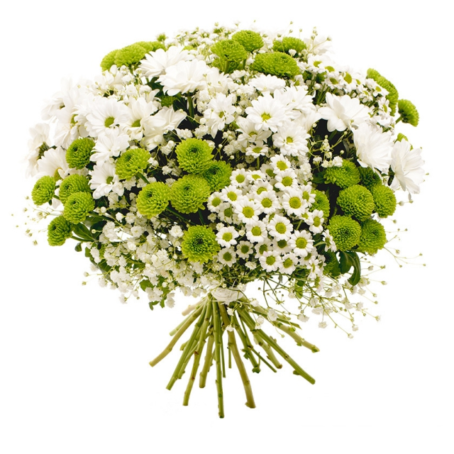 Elegant white bouquet CHIC - Brno
