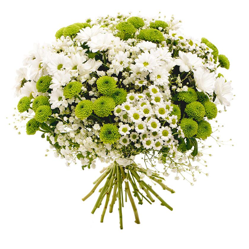 Elegantní bílá kytice CHIC - Brno