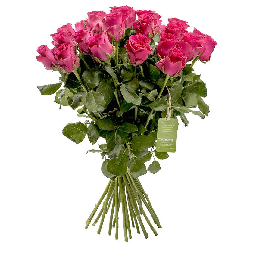 """Kytice """"malinových"""" růží"""