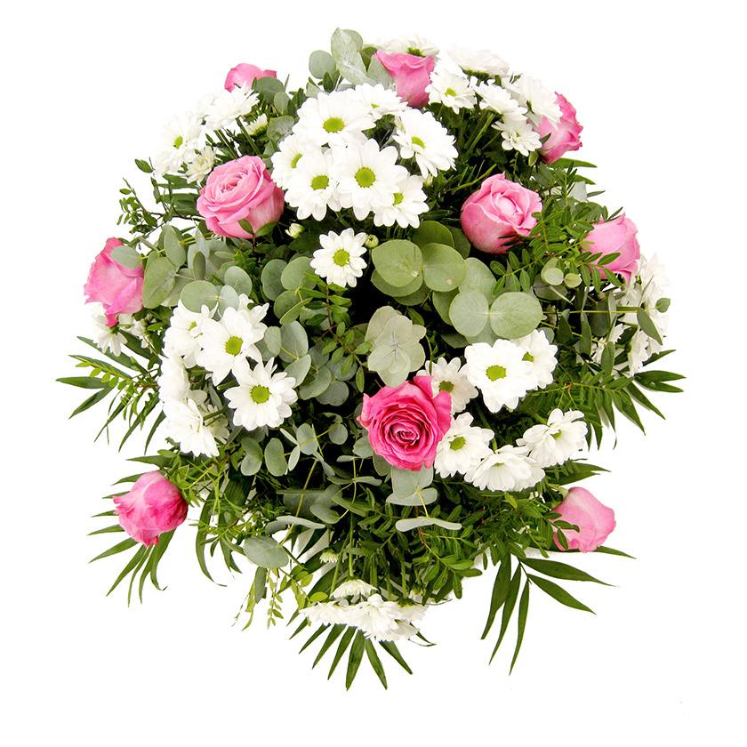 Smuteční kytice kulatá - Brno