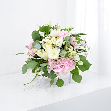 Svatebni kytice hortenzie Brno