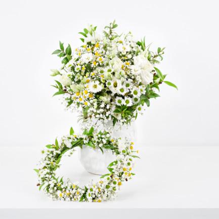 Svatební kytice luční Brno